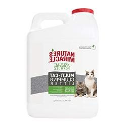 Nature's Miracle P-98139 Multi-Cat Clumping Clay Litter, 20
