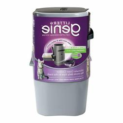 Litter Genie Pail - Silver Ultimate Cat Litter Disposal Syst