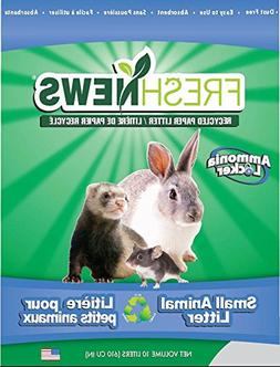 Fresh News Paper Small Animal Litter, 10,000-Cubic Centimete