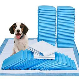 "Pee Pads- 100 Count - 23"" x 24"" Dog Pads for Puppy Training"