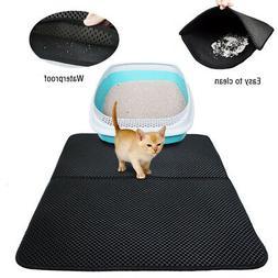 Pet Cat Litter Box Tray Mat Trapper Catcher Non Slip Square