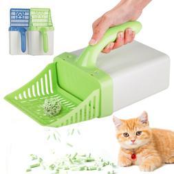 Pet Cat Litter Scoop&10 Refill Count Bags Scooper Processor