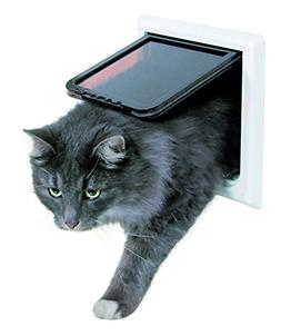 Trixie Pet Products 4-Way Locking Cat Door with Tunnel, X-La