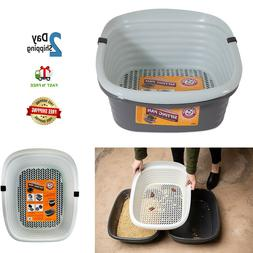 Pet Mate 42036 Arm & Hammer Large Sifting Litter Pan box For