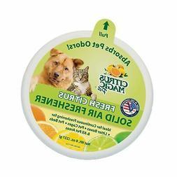 Citrus Magic Pet Odor Absorbing Solid Air Freshener Fresh Ci
