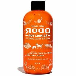 Angry Orange Pet Odor Eliminator 8 oz. bottle- Industrial St