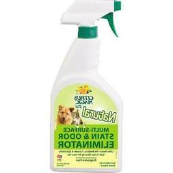 613571799 22 Oz Citrus Magic Pet Odor Eliminator Spray Bottl