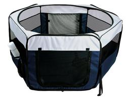Trixie Pet Products Soft Sided Mobile Play Pen, Small