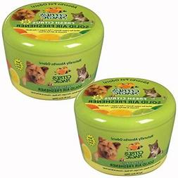 Citrus Magic Pet 20-Ounce Solid Air Freshener, 2-Pack, Fresh