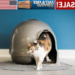 Petmate Booda Dome Cleanstep Cat Litter Box Keeps Modern Hom