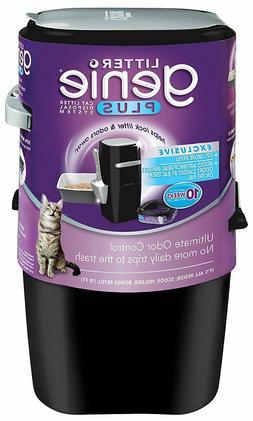 Litter Genie Plus Pail Cat Litter Disposal System Black