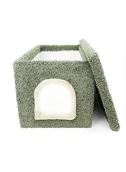 New Cat Condos Premier Litter Box Enclosure, Green
