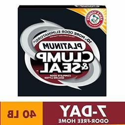 Premium Arm & Hammer Clump & Seal Platinum Cat Litter, Multi