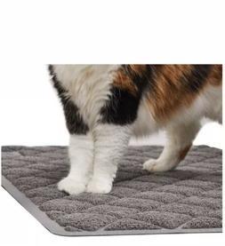 GORILLA GRIP Premium Cat Litter Mat, XL Jumbo Size, Scatter