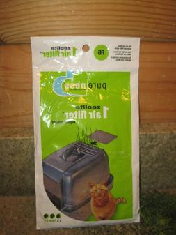 Pure-Ness Zeolite Air Filter / 1 Pack / F6 / Van Ness Litter