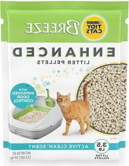 Purina TIDY CATS Breeze Cat Litter Non-Clumping Enhanced Pel