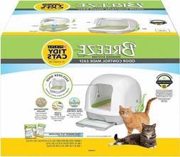Tidy Cats Purina Breeze Hooded Cat Litter Box System, NEW IN