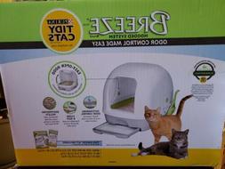 Purina Tidy Cats Breeze Hooded System Starter Kit Cat Litter