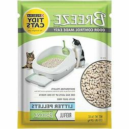2 Pack of Purina Tidy Cats BREEZE Cat Litter Pellets Refill