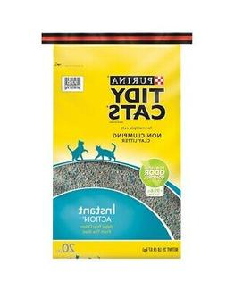 Purina Tidy Cats Non-Clumping Clay Litter For Cats Instant A