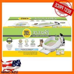 Purina Tidy BREEZE Cat Litter Box System Open Odor Control P