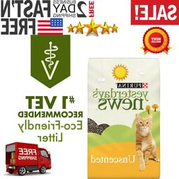 Purina Yesterday's News Unscented Paper Cat Litter 30 lb. Ba