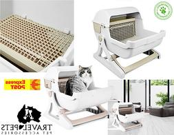 Quick Sift Kitty Litter Cat Litter Box Tray Semi Automatic T