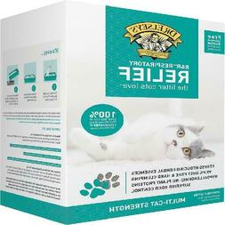 Precious Cat Respiratory Relief Clumping Clay Cat Litter siz