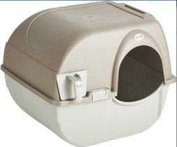 Omega Paw Roll'N Clean Cat Litter Box LARGE FREE SHIPPING