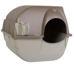 Omega Paw Roll 'N Clean Cat Litter Box, Large Free-Shipping