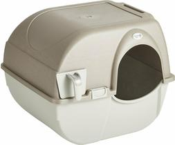 Omega Paw Roll'N Clean Cat Litter Box - Large
