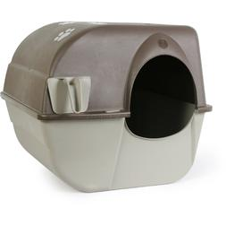 Roll N Clean Self Cleaning Cat Litter Box Large Easy To Use