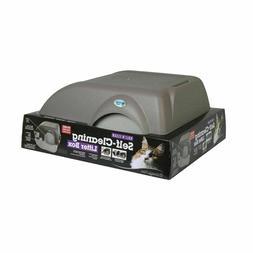 Omega Paw Roll'n Clean Self Cleaning Litter Box Kitten Cat N