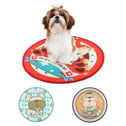 Round Soft Dog Bed Pet Puppy Cat Warm Basket Cushion Plush M