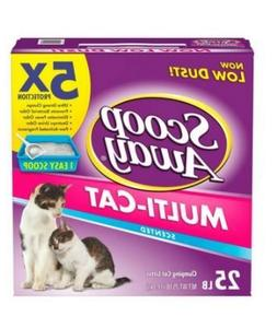 Scoop Away Multi-Cat, Scented Cat Litter, 38 Pounds