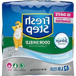 Fresh Step Odor Shield Scented Litter with the Power of Febr