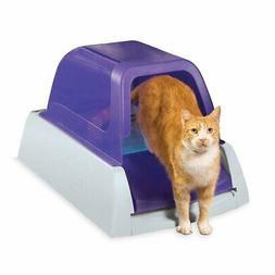 PetSafe ScoopFree Ultra Self-Cleaning Cat Litter Box, Covere