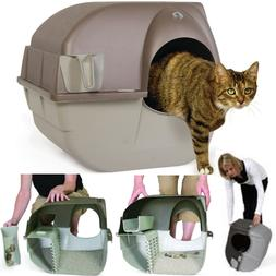 Self Clean Automatic Cat Litter Box Large Roll'n Kitty Plast