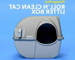 Omega Paw Self Cleaning Automatic Cat Litter Box Large Roll'