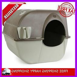 Self Cleaning Automatic Cat Litter Box Pet Roll'N Kitty Pewt