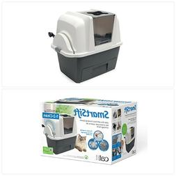 Self Cleaning Cat Litter Box Automatic Pan Lid Cover Multipl