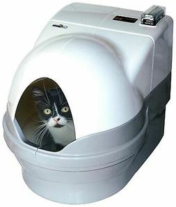 Self-Cleaning Litter Box DOME and SIDEWALLS ONLY, White, Pri