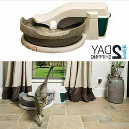 Self Cleaning Litter Box Eco Automatic Scoopfree Pet Tray El
