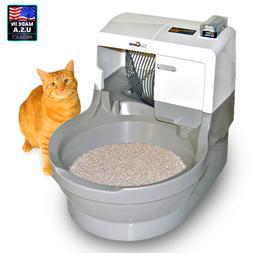 CatGenie Self Flushing Litter Box Automatic Washing Cat Geni