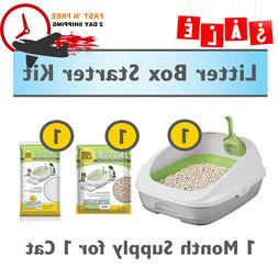 self litter cat box cleaning scoop tray