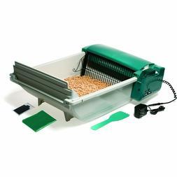 Self Cleaning Cat Litter Box Sift Pan Pet Poop Scoop Rake Od