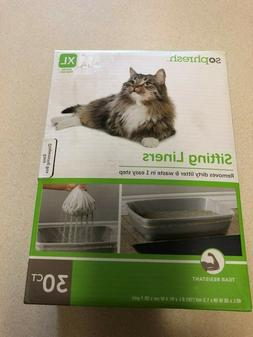 sifting cat litter liners