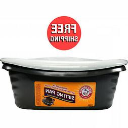 Arm Hammer Large Sifting Litter Pan / Box for Cats / Kitties