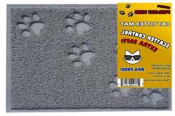 Playay Small Cat Litter Mat, Litter Trapper Mat, Food Mat, K
