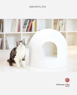 Pidan Snow House Igloo Portable Hooded Cat Toilet Litter Box